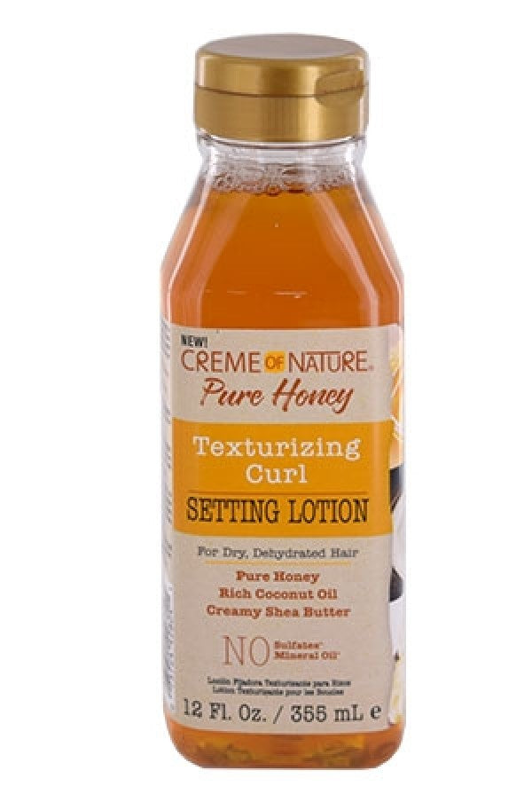 Creme Of Nature Pure Honey Texturizing Curl Setting Lotion 12oz.