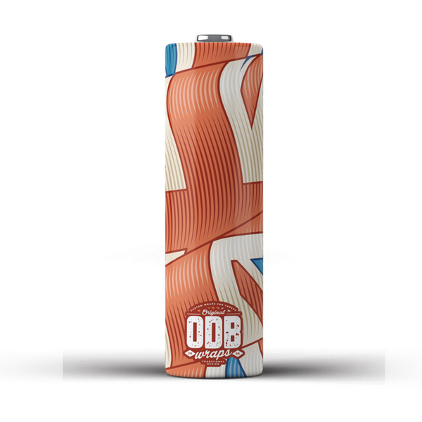 ODB Wraps - Blighty  (Pack of 4)