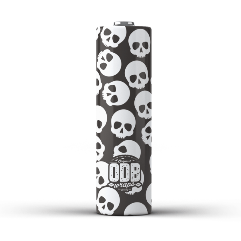 ODB Wraps - skullz  (Pack of 4) - (Pre-Order)