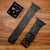 Handmade upcycled Louis Vuitton Graphite Logo Apple Watch Band