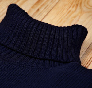 PIKE BROTHERS 1923 TURTLE NECK DARK NAVY