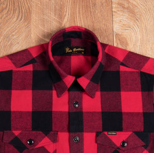 PIKE BROTHERS 1943 CPO SHIRT HOOVER RED