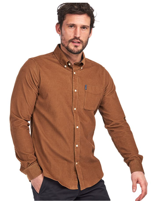 BARBOUR CHEMISE CORD 2 TAILORED SHIRT