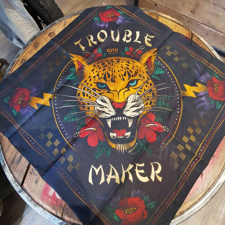 DMD BANDANA TROUBLE MAKER 60x60