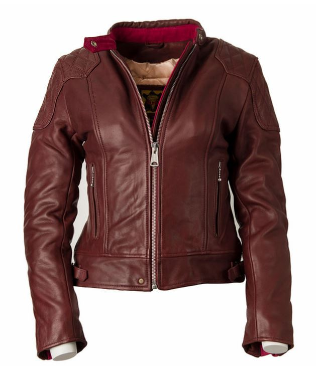 GOLDTOP CUIR LADIES 76 CAFE RACER (CE ARMOURED)