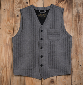 PIKE BROTHERS 1937 ROAMER VEST SWEDISH STRIPES