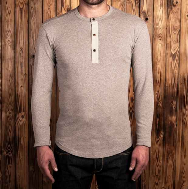 PIKE BROTHERS 1927 HENLEY SHIRT LONG SLEEVE