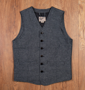 PIKE BROTHERS 1905 HAULER VEST SMOKE GREY