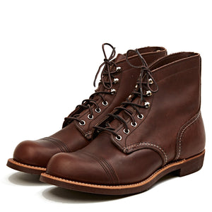 RED WING SHOES IRON RANGER STYLE NO. 8111