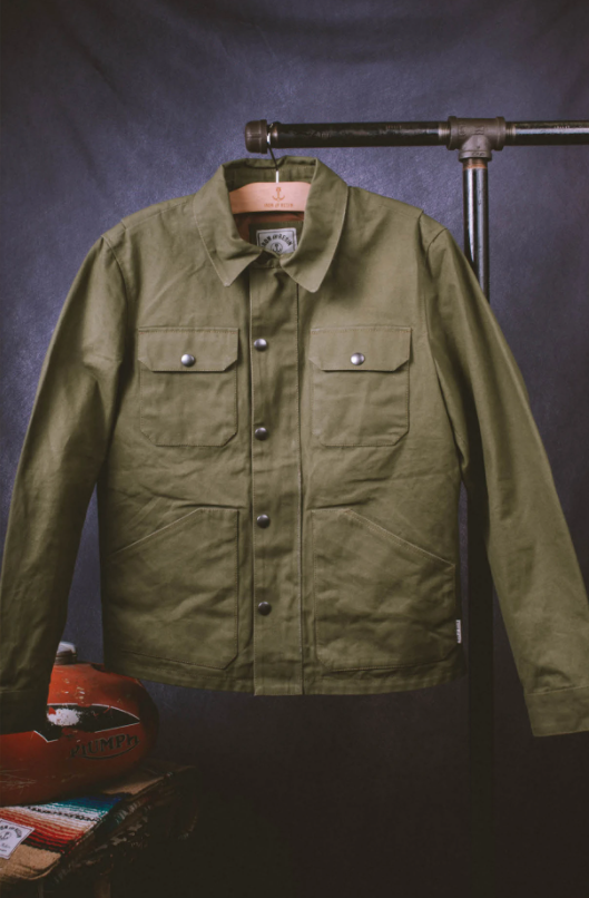 IRON & RESIN RIDER JACKET ARMY