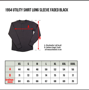 PIKE BROTHERS 1954 UTILITY SHIRT LONG SLEEVE