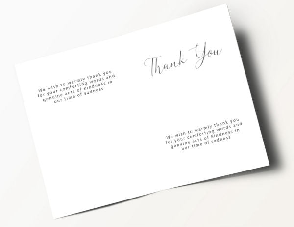 Contemporary Thank You Card 8