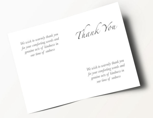 Floral Thank You Card 8