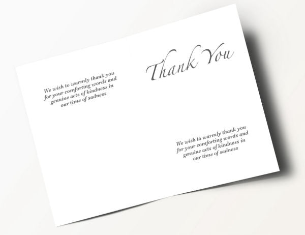 Floral Thank You Card 12