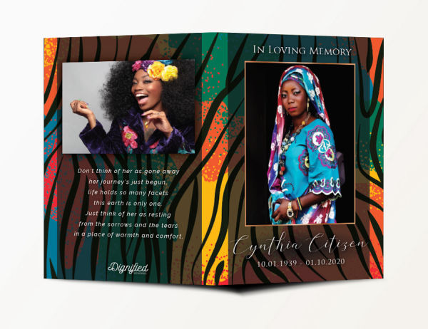 Africa Thank You Card 1