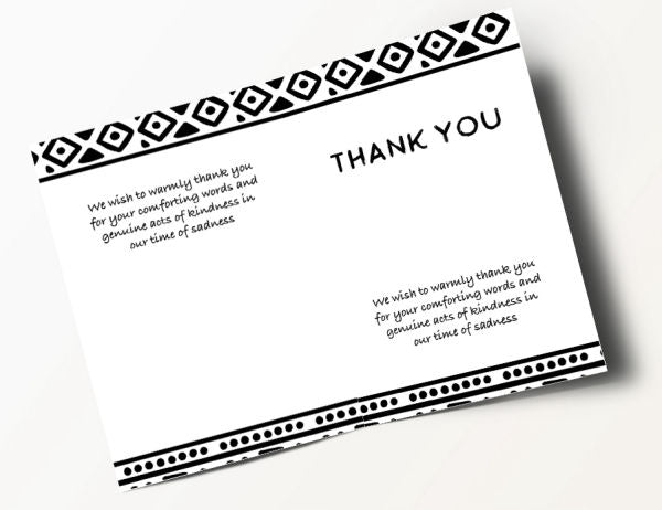 Africa Thank You Card 2