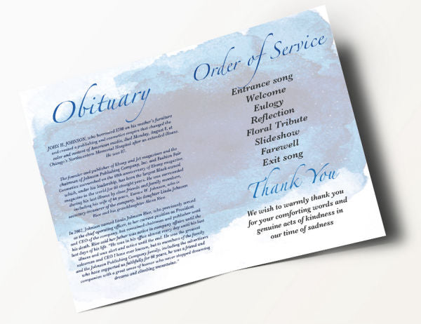 Contemporary Order of Service 7