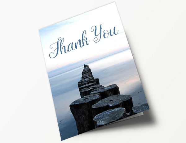 Contemporary Thank You Card 3