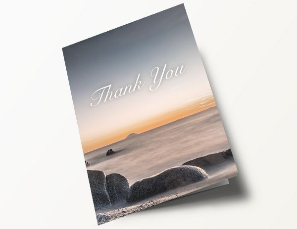 Contemporary Thank You Card 4