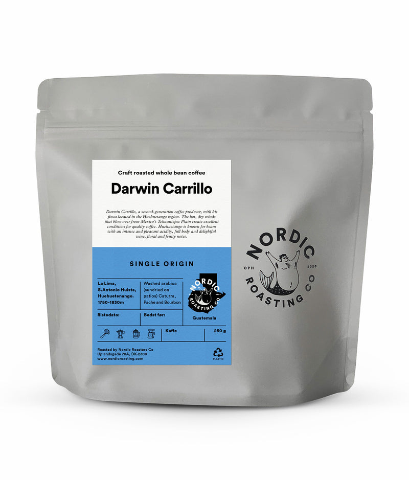 Darwin Carrillo – Washed Arabica – Huehuetenango – Guatemala