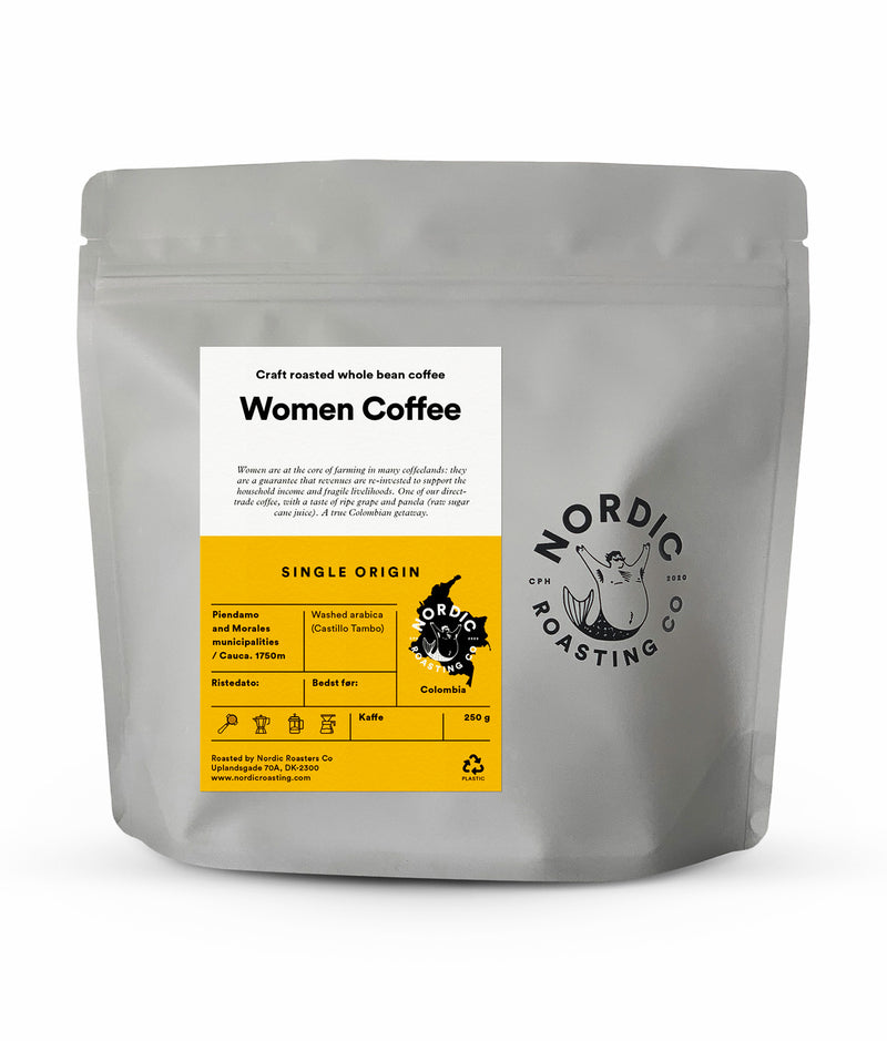 Women Coffee – Washed Arabica – Cauca – Colombia
