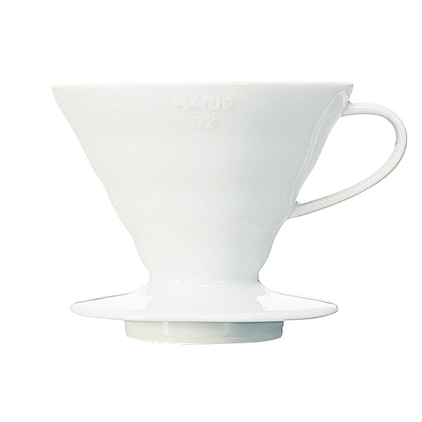 Hario V60-02 Plastic Dripper Ceramic White