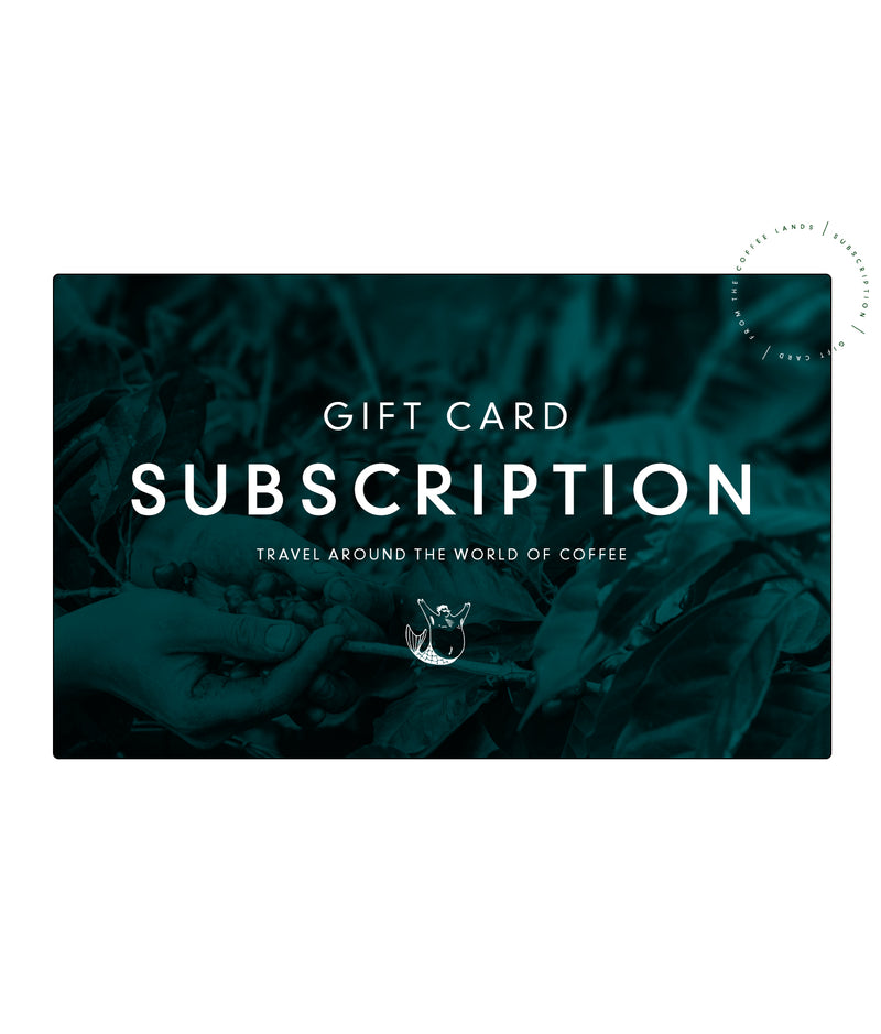Subscription Gift Card