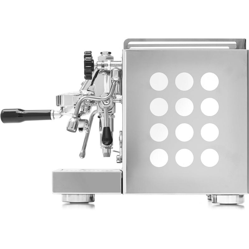 Appartamento espresso machine white and cooper