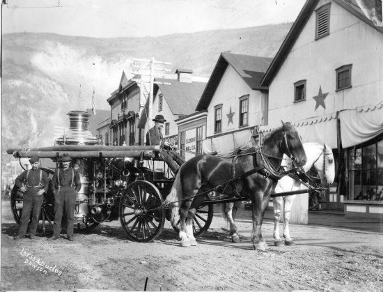 New Fire Engine, 1898.