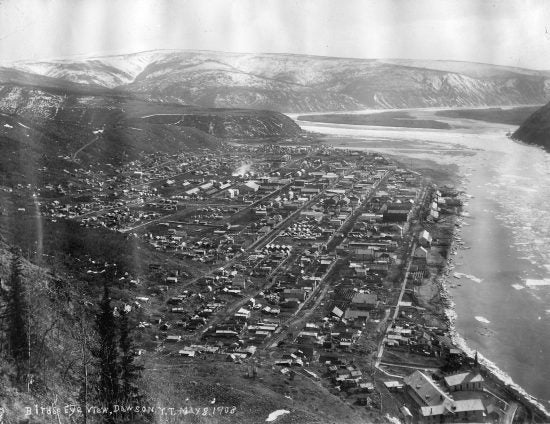 Bird's Eye View, Dawson, Y.T. May 8, 1908