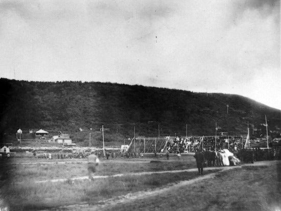 Baseball Game in Minto Park, c1910