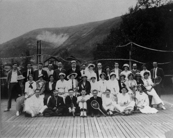 Yukon Lawn Tennis Club Midnight, June 21st, 1915