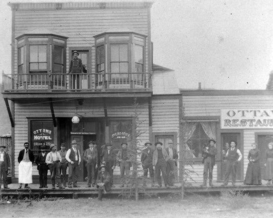 Ottawa Hotel and Restaurant, 1901