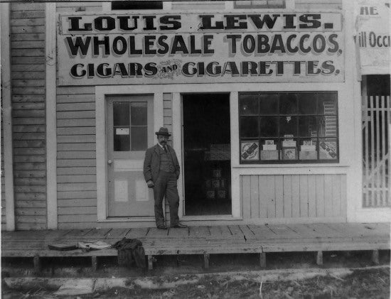 Louis Lewis Wholesale Tobacco, 1901