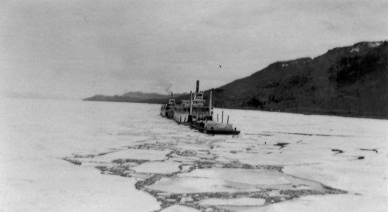 Ice Breaking Barge. 1934
