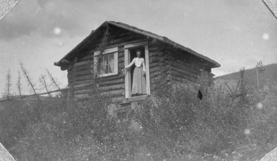 Portrait with Cabin, c1902