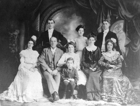 Robert Black Family, Toledo Ohio, c1902