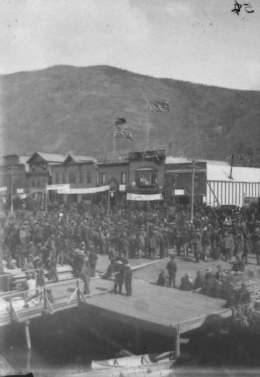 Fourth of July Celebrations, Front Street, c1898