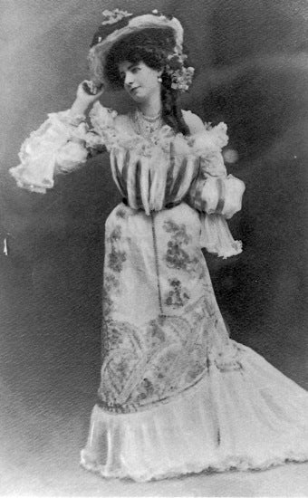 Lillian M. Hall, c1903