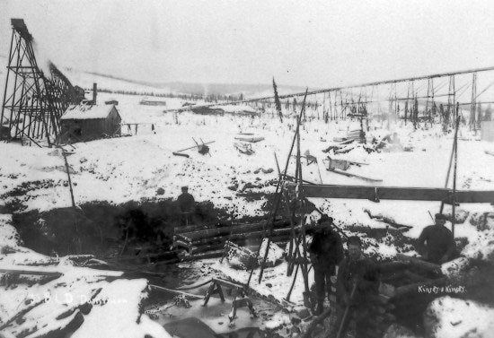 33 Below Lower Discovery, Dominion, c1910.