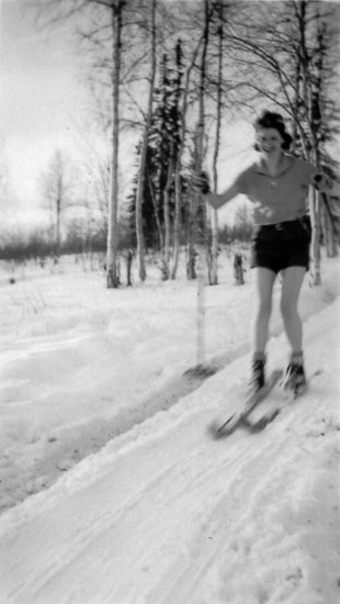 Cross Country Skiing, c1939.