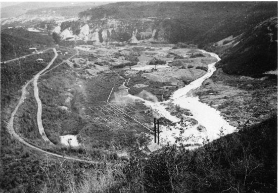 Bonanza Creek, c1914.