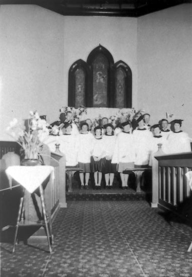 St. Paul's Anglican Church Choir, c1966.
