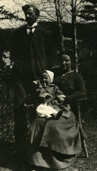Brimston Family, c1916.
