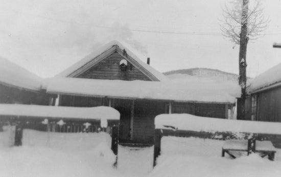 Our Last Cabin, 1934