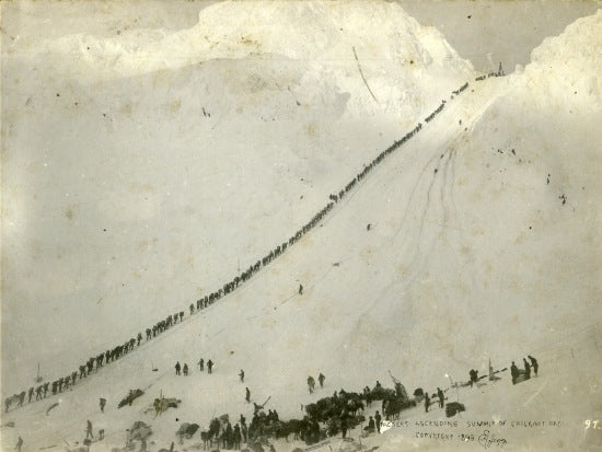 Chilkoot Pass, c1898.