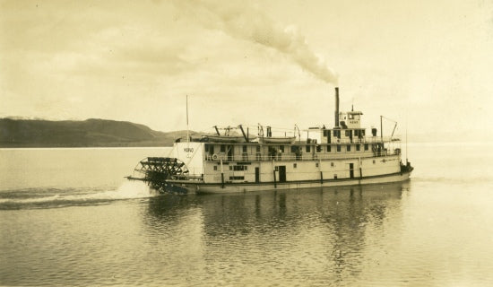 SS Keno on the Yukon River, n.d.
