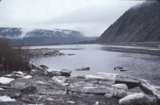 Break-Up of the Yukon River, May 1976.