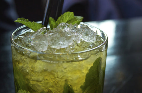 beverage and ice as alcoholic or nonalcoholic lifestyle