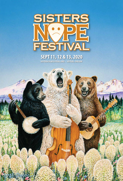 *Signed* 2020 Sisters Nope Festival Poster